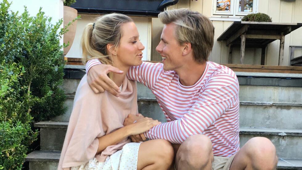 ANJA JOHANSEN BRYLLUP: Den 4. august 2018 gifter blogger Anja Johansen seg med svømmeren Lavrans Solli i Bergen. Foto: Privat // Anja Johansen