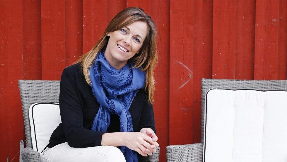 MUSKELKNUTER: Lyse bukser var en umulighet for Elisabeth tidligere, på grunn av  blødninger fra muskelknuter. Nå er hun kvitt problemet. Foto: Petra Isaksson