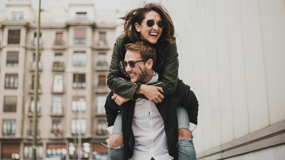 PARFORHOLD: Selv om man har det gøy sammen og elsker hverandre, havner noen par opp som venner i stedet for kjærester.  Foto: NTB Scanpix