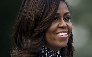 Michelle Obama + den lille sorte = perfeksjon