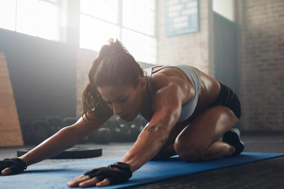 TREN HVOR SOM HELST: Du må ikke nødvendigvis på et treningssenter for å trene ryggen. Foto: NTB/Scanpix