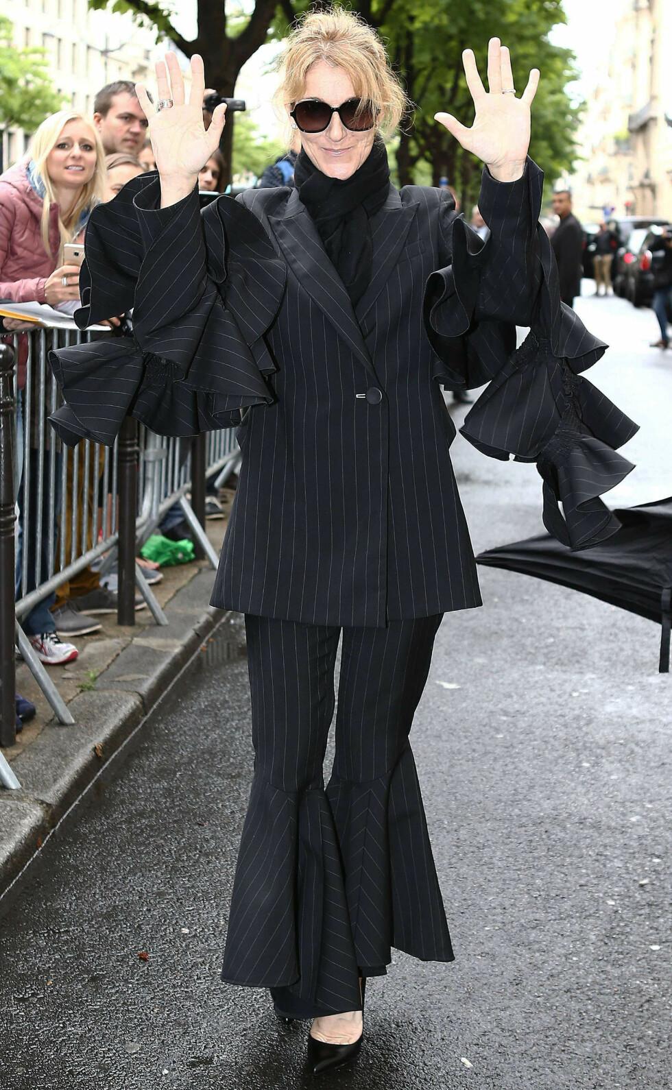 I PARIS: Celine Dion Foto: Splash News