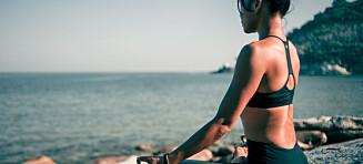 Hvor lite skal til for å holde formen i ferien?