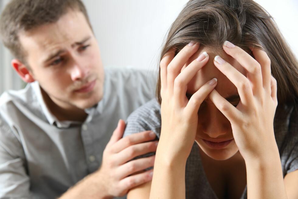 TILGIVELSE: Hvis du tviholder på offerrollen stenger du for forholdets mulighet til å klare seg. På et eller annet tidspunkt må du tilgi hvis forholdet skal overleve. Foto: NTB scanpix