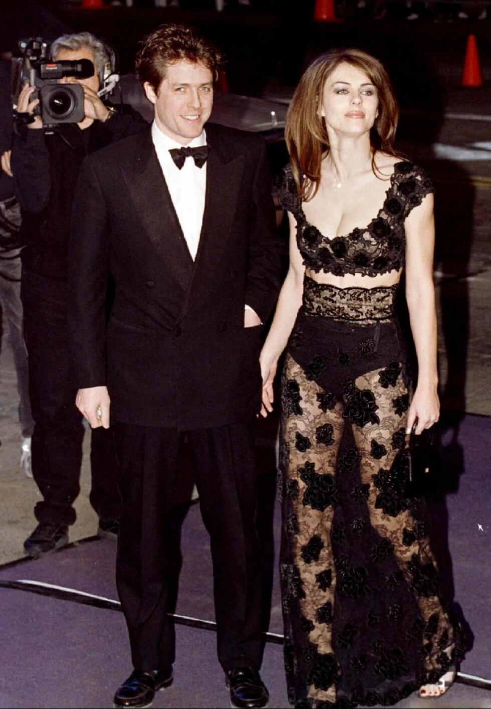 1997: Hugh Grant og Elizabeth Hurley Foto: REUTERS