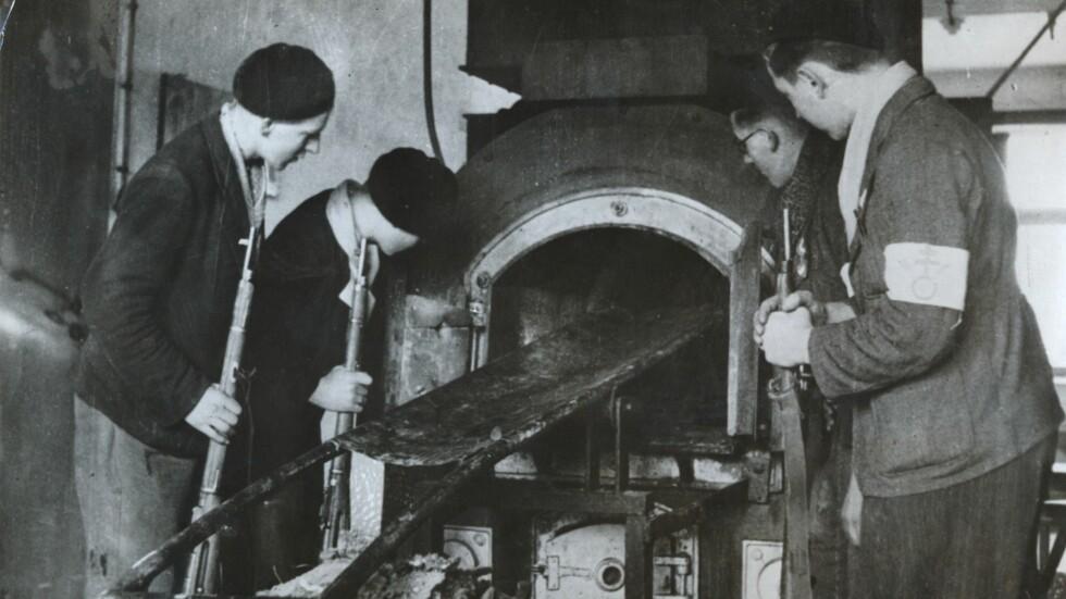 ANDRE VERDENSKRIG: Fangeleiren Natzweiler-Struthof var den eneste tyske leiren i Frankrike, og var i drift fra våren 1941 til høsten 1944. I dette krematoriet ble fire britiske motstandskvinner brent etter å ha blitt  injisert med gift av nazistene. Foto: NTB Scanpix