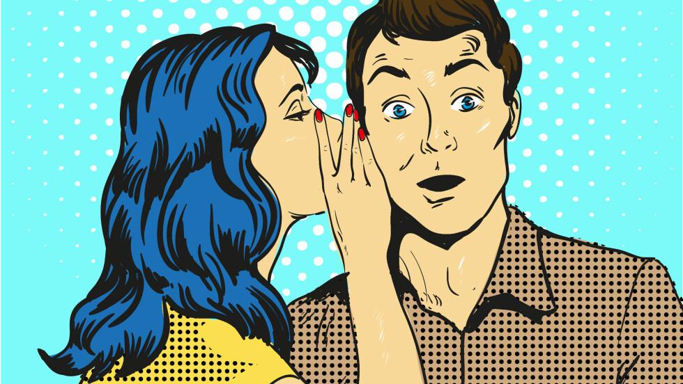LYSTLØGNER: Forskning hevder at folk flest lyver en til to ganger daglig i samtaler som varer mer enn fire–fem minutter. Foto: NTB Scanpix