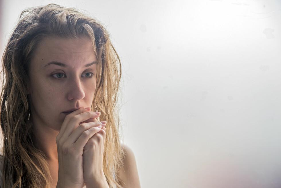 VANSKELIG Å SNAKKE OM: Angst blir for mange en svært isolerende lidelse.  Foto: Scanpix
