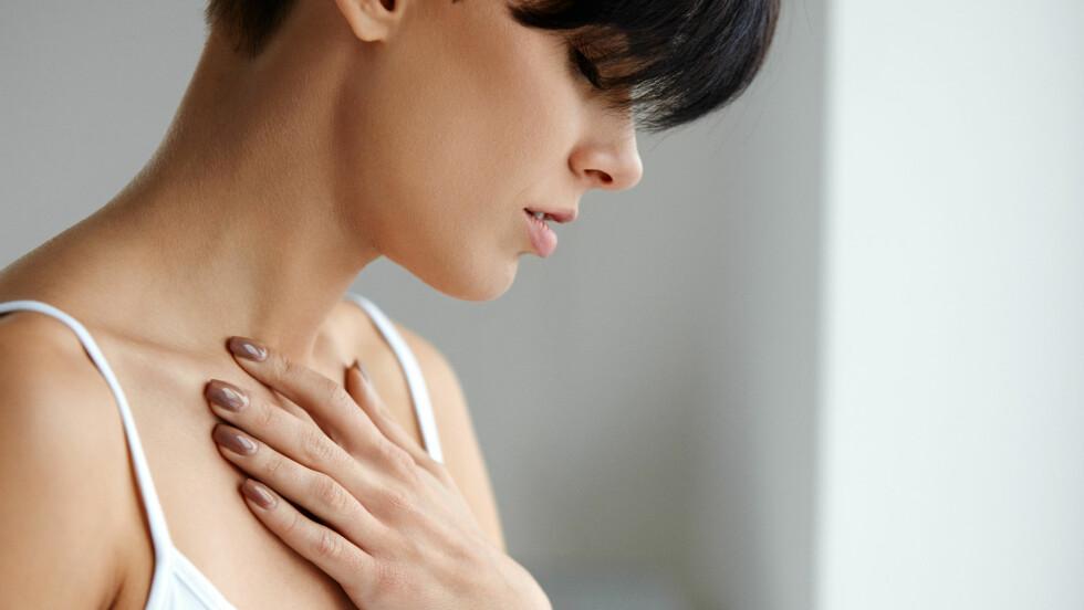ANGST: Symptomene på angst kan ligne de ved et hjerteinfarkt.  Foto: NTB Scanpix