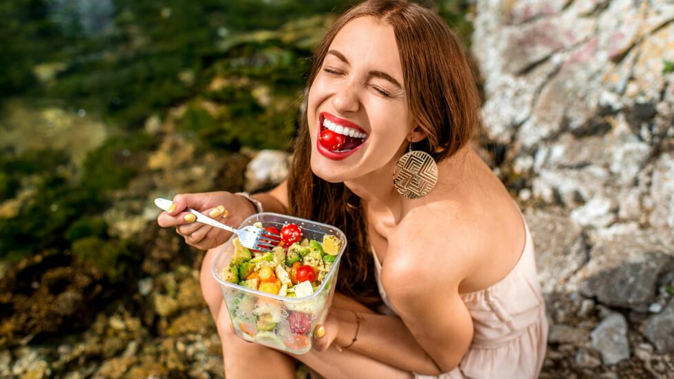 PLANTEBASERT KOSTHOLD: Å spise mer plantebasert mat kan ha enorm innvirkning på ditt eget liv og helse.  Foto: NTB scanpix