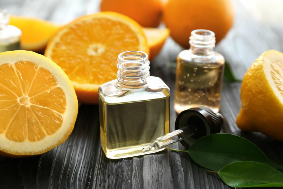 SITRUS: Hva du er glad i av mat og hobbyer kan gi deg et hint av hva du liker av dufter. Foto: NTB scanpix