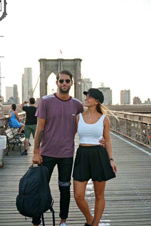 REISE: Janne og Omar sa opp både leilighet og jobb. Så begynte de å selge alt de hadde. Foto: Privat