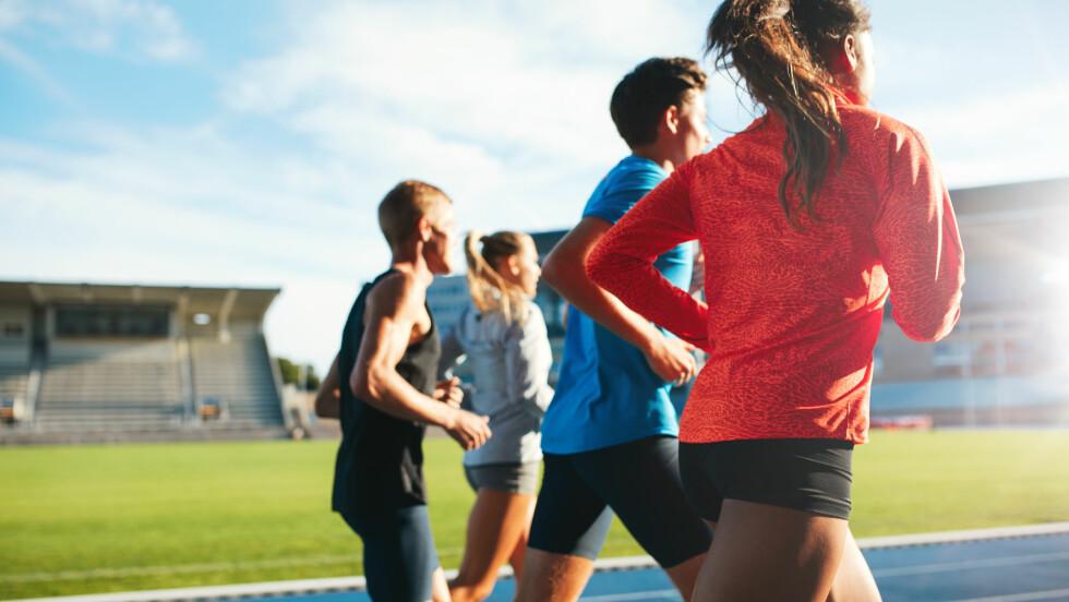 BARN OG IDRETT: For ungdom som velger idrettslinje på videregående er forekomsten av spiseforstyrrelser høyere enn hos ungdom ellers. Foto: NTB Scanpix