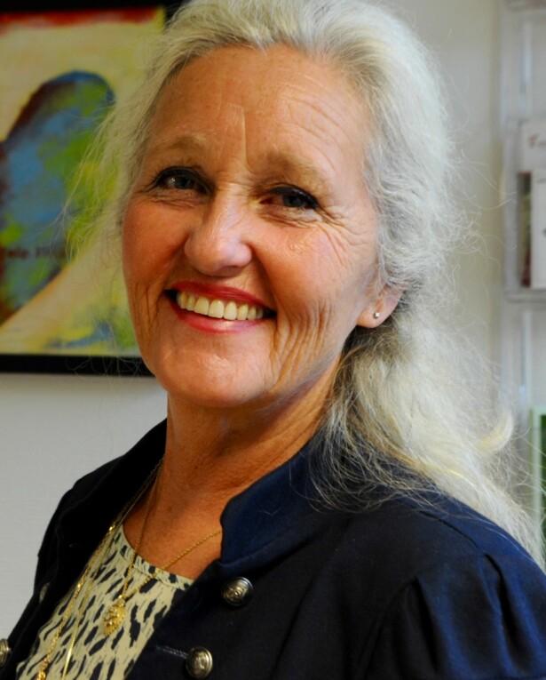 START TIDLIG: Men tilpass praten etter alder, mener helsesøster Agnes Giertsen. Foto: Privat