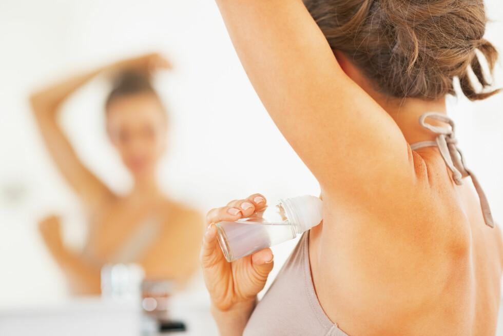 IKKE SLURV: Såpen må få virke noen minutter før man skyller den av, slik at den kan løse opp fettfilmen på huden. Foto: NTB scanpix