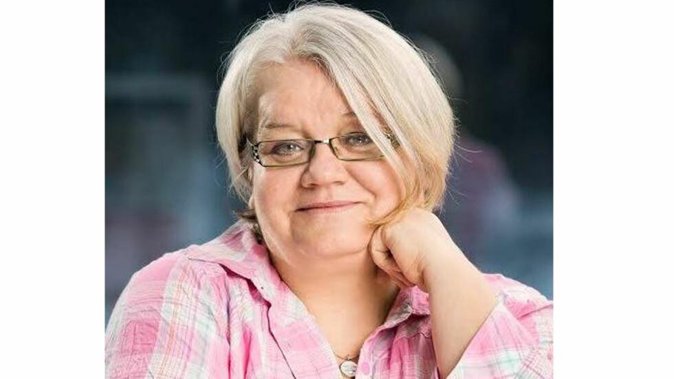 OVERSPISING: Mona Larsen (51) har slitt med overspising i førti år.  Foto: Privat