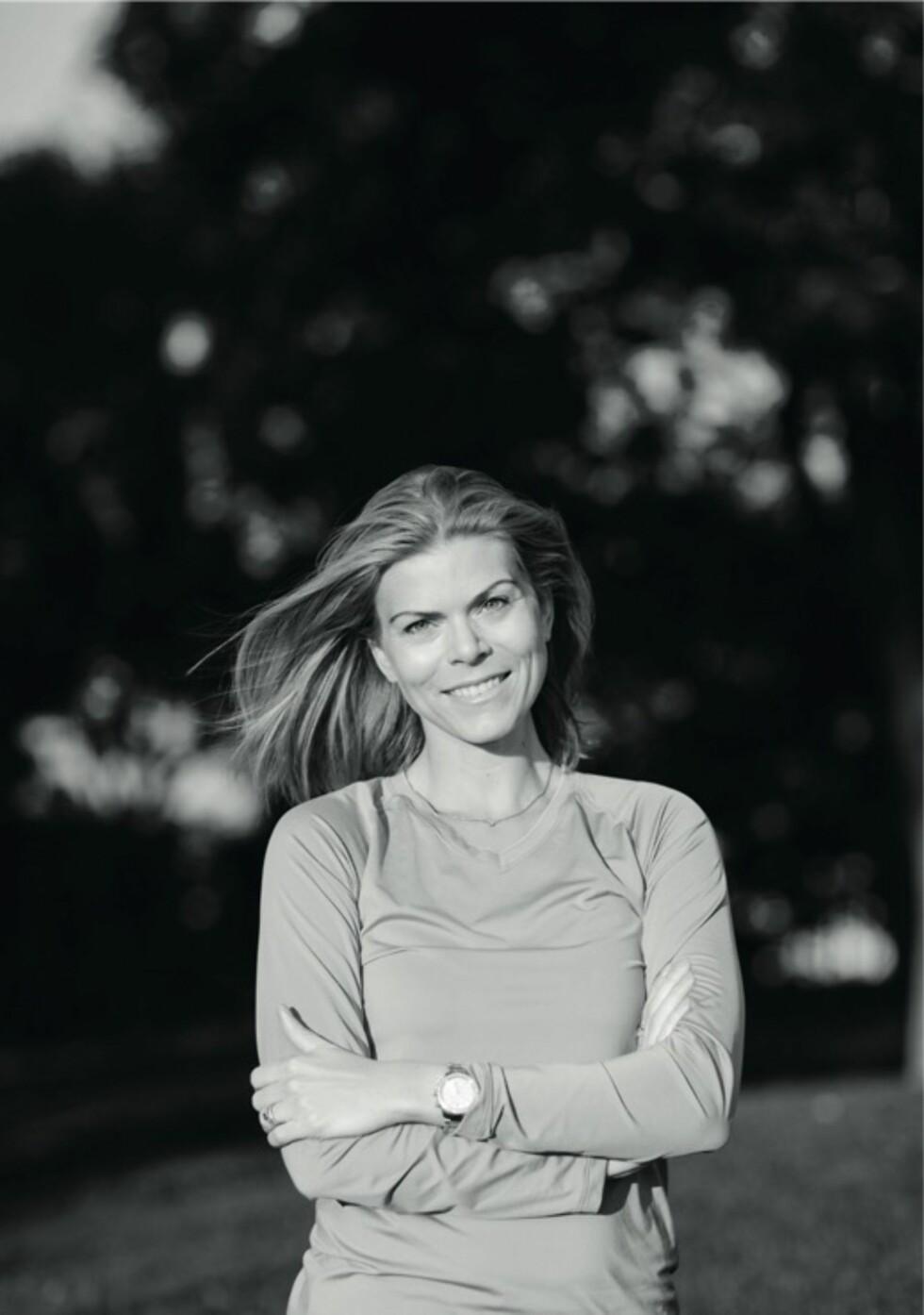 SPISEFORSTYRRELSE: Terese Alvén inspirerer tusenvis av lesere gjennom sin treningsblogg. Men i flere år hadde hun en spiseforstyrrelse som holdt på å koste henne livet. Foto: Jane Haglund