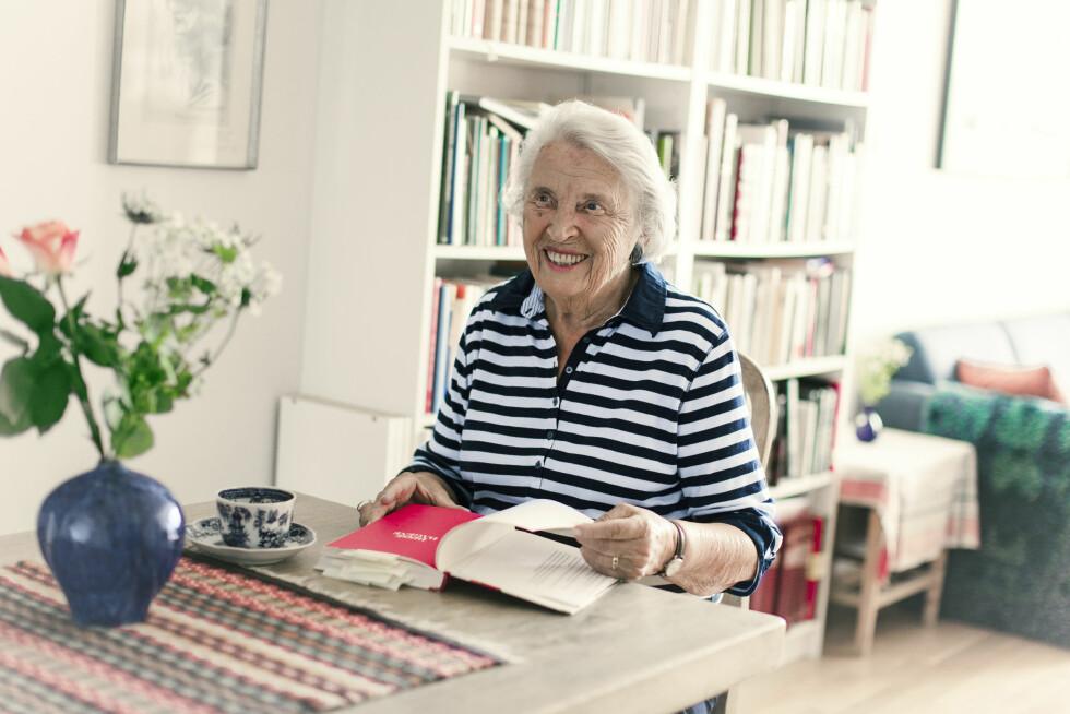 AKTUELL: Tordis er aktuell med boka «Kjærligheten har sitt eget språk».  Foto: Astrid Waller