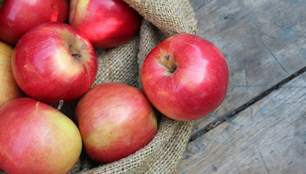 MER PROMP: Epler kan faktisk gjøre at vi promper mer. FOTO: NTB Scanpix