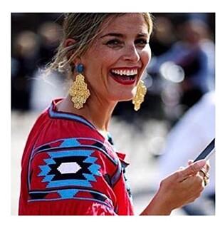 BLOGGOPPMERKSOMHET: Janka Polliani er en av motebloggerne som har vist fram Steruds design.