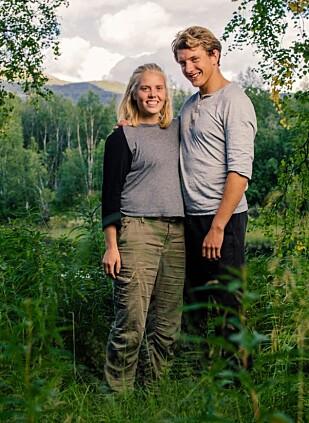 KJÆRESTER: Maren Werner og kjæresten Sigbjørn Bøtun er begge deltakere i TV 2-serien «Alene». Foto: Marius Fiskum