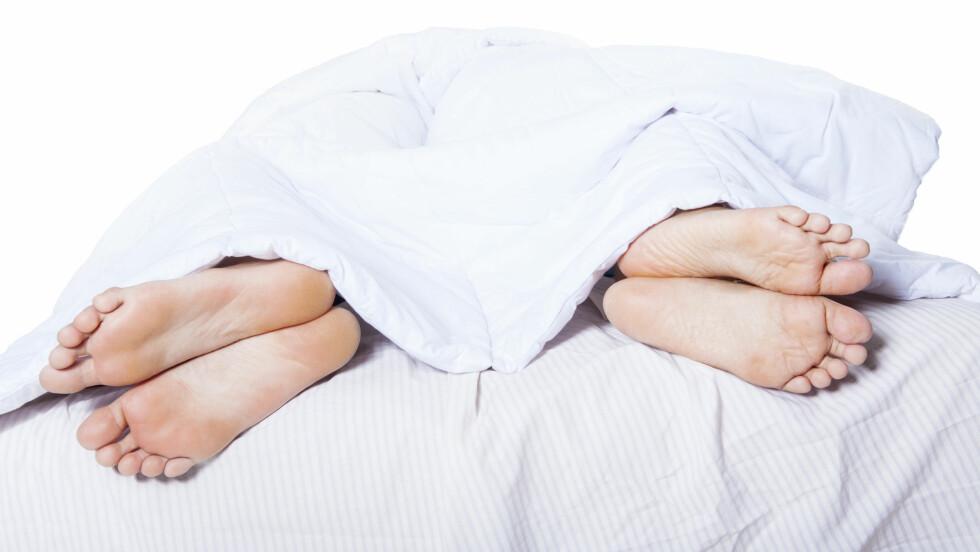 SJELDEN ELLER ALDRI SEX: Hvert femte norske par har sjelden eller aldri sex. Spørsmålet er - behøver det nødvendigvis å være så negativt? Se hva ekspertene sier.  Foto: Creativa - Fotolia