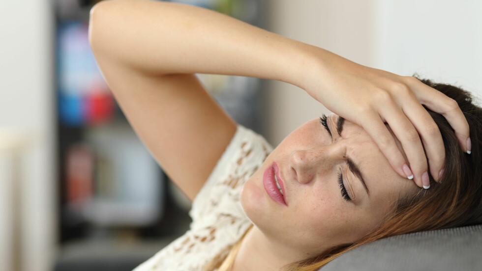STRESS: Dersom du går rundt og er stresset over lengre tid kan dette til slutt være dødelig da stress er forbundet med hjerteinfarkt.  Foto: Antonioguillem - Fotolia