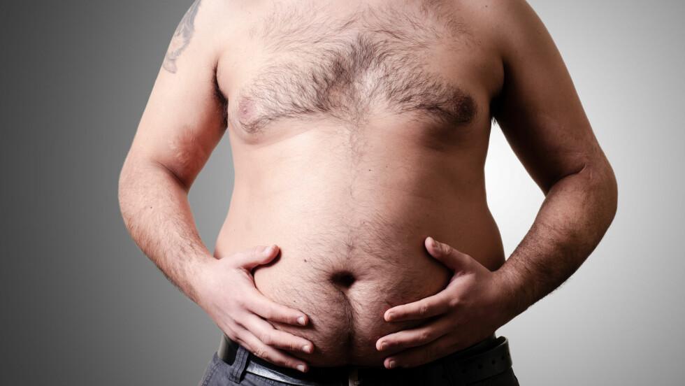 LAGT PÅ SEG: Det kan være vanskelig å fortelle partneren sin at han eller hun må slanke seg.  Foto: Eugenio Marongiu - Fotolia