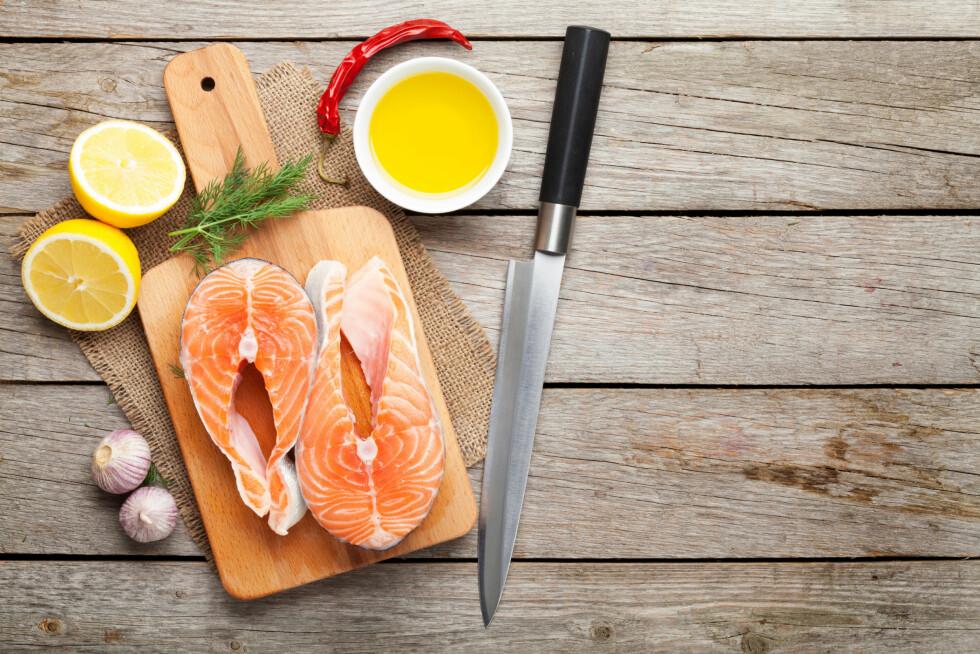 GUNSTIG: Fet fisk er noe av det beste og lureste du kan spise.  Foto: karandaev - Fotolia