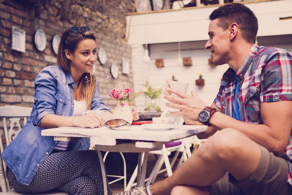 TILTRUKKET: Kanskje den beste tiden å dra på date er når du har eggløsning? Foto: Astarot - Fotolia