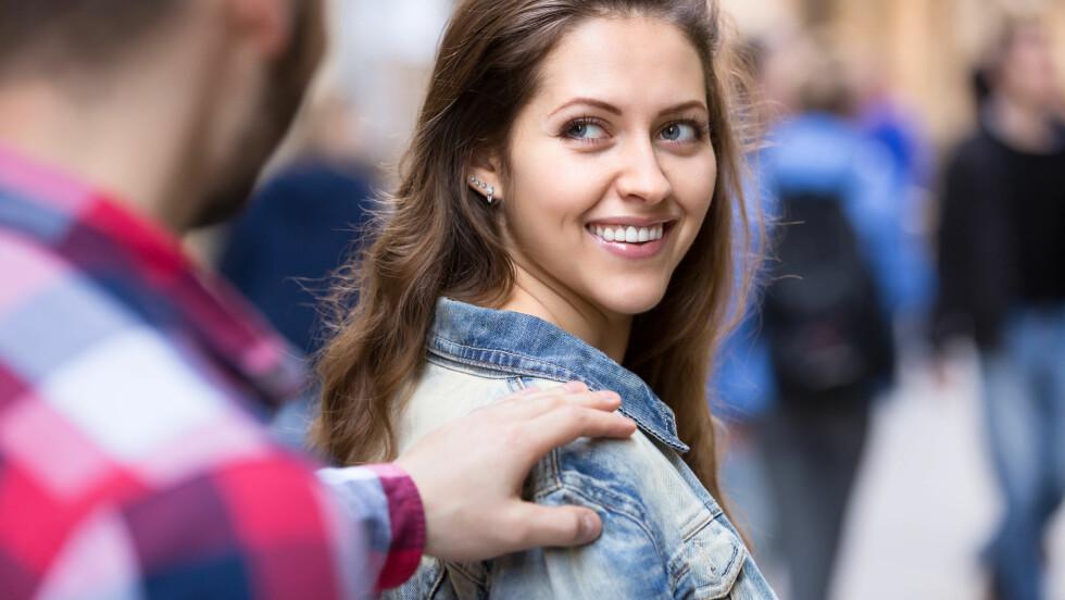 MER ATTRAKTIV UNDER EGGLØSNING: Forskning tyder på at menn blir lettere tiltrukket av kvinner under eggløsning.  Foto: JackF - Fotolia