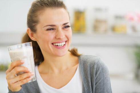 MELK: For å dekke behovet for vitamin D må du drikke 2,5 liter melk. Foto: Alliance - Fotolia