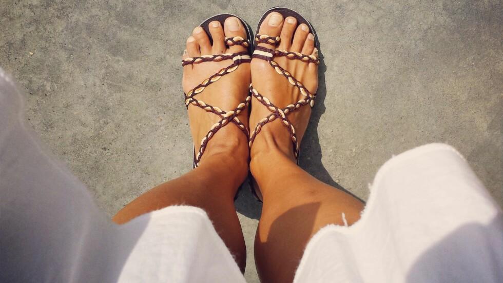SANDALER: Vi har funnet noen fantastiske sandalnyheter - sjekk de ut nederst i saken! Foto: lulu - Fotolia