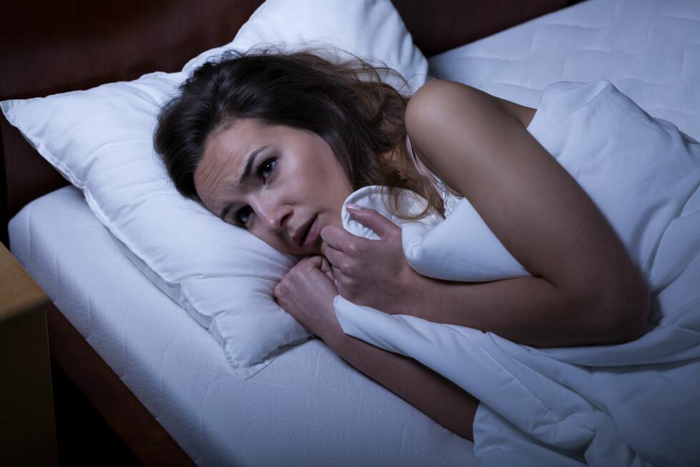 SØVNPARALYSE: Har du opplevd den ekle følelsen av å være våken, men ute av stand til å bevege deg? Foto: Photographee.eu - Fotolia