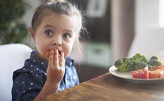 Vurderer du å oppdra barnet på vegetarkost?