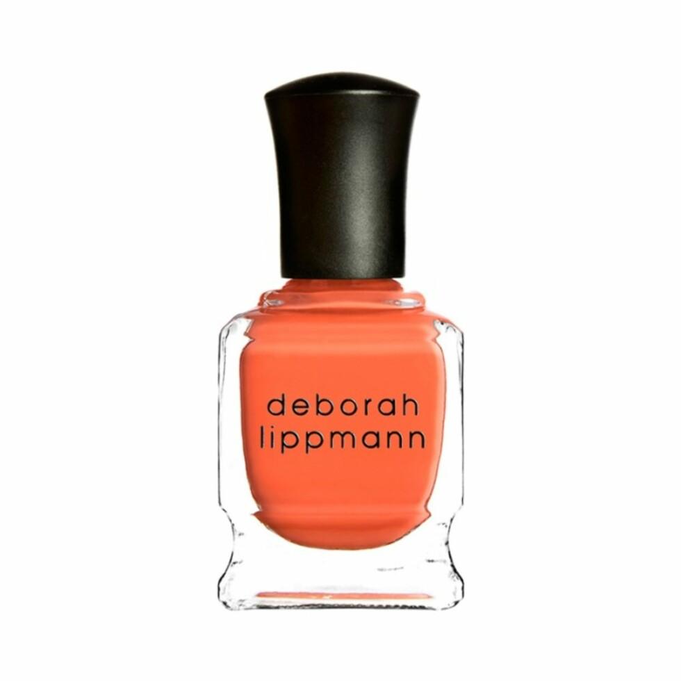 Nelgelakk fra Deborah Lippmann via Kicks.no | kr 169 | https://www.kicks.no/deborah-lippmann/makeup/negler/neglelakk-c160/nail-lacquer-celebrity-shades--p20707