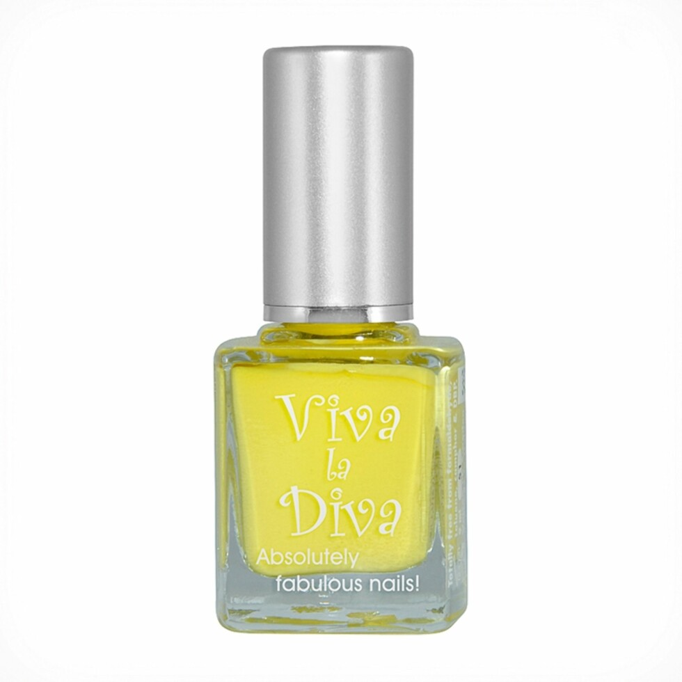 Neglelakk fra Viva La Diva via Nordicfeel.no | kr 59 | https://www.nordicfeel.no/make-up/negler/neglelakk/viva-la-diva-nailpolish-20575