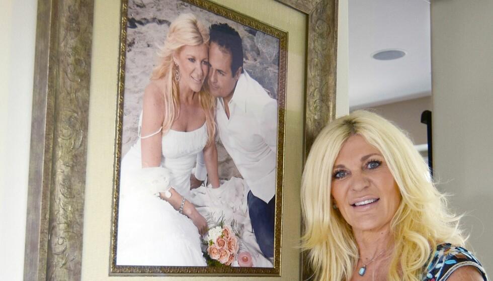 GIFT: Maria er gift med mekleren Karman Montazami. FOTO: Birgitta Lindvall Wiik