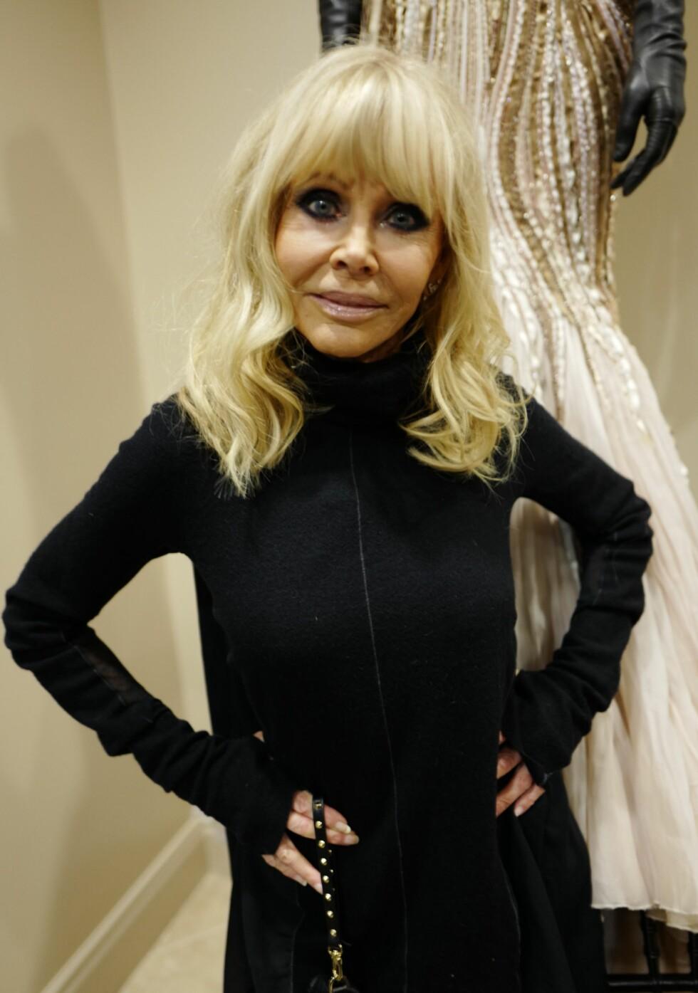 FYLLER 75 ÅR: 6. oktober fyller Britt Ekland 75 år.