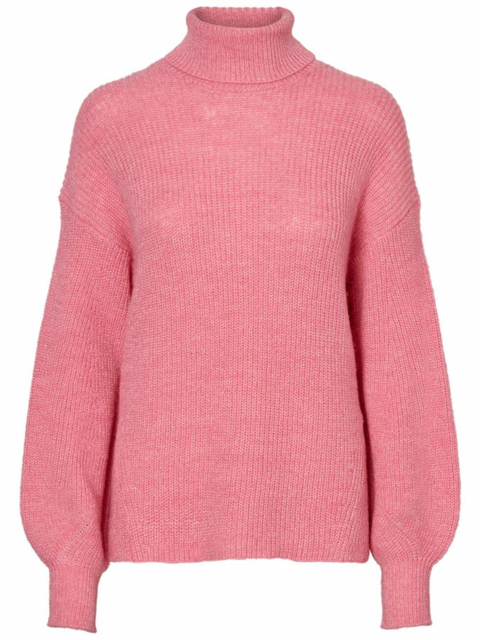 Genser fra Vero Moda |450,-|https://www.veromoda.com/no/no/vm/handla-efter-kategori/strikk/aware-strikket-pullover-10185074.html?cgid=vm-knitwear&dwvar_colorPattern=10185074_AzaleaPink_587481