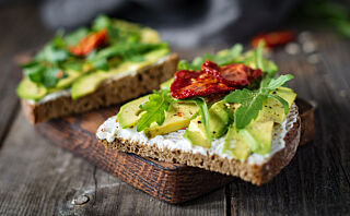 3 sunne pålegg med grønnsaker