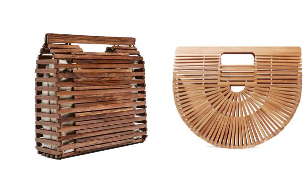 <strong>BILLIG VS DYR:</strong> Vesken til venstre er fra Zara og koster kroner 349. Vesken til høyre er fra Cult Gaia og koster kroner 1500.