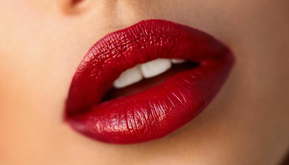CONTOURING AV LEPPER: Ja, du kan contouring-teknikken på leppene dine. FOTO: NTB Scanpix