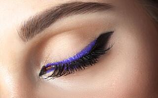 Slik nailer du farget eyeliner