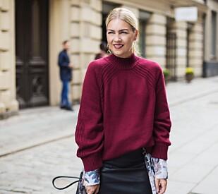 EKSPERTEN: Stylist og moteekspert Silje Pedersen mener at rett skovalg også kan få deg til å se høyere ut. FOTO: Emma Svensson Studio