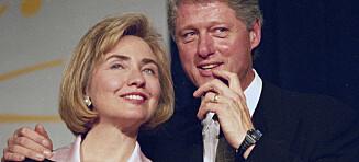 Hillary Clinton avslører hvorfor hun valgte å bli værende med ektemannen Bill etter utroskapsskandalen