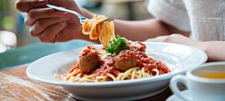 Er det ok å spise varm kantinelunsj hver dag?