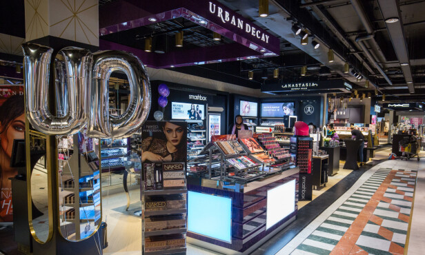 Kicks flagship-butikk på Glasmagasinet i Oslo. Foto: Presskontakerna