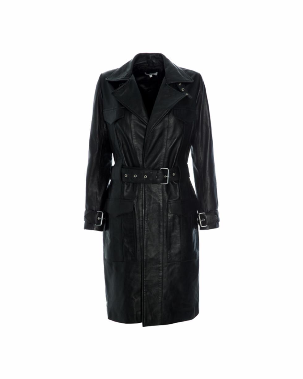 Kåpe fra Hosbjerg  4299,-  http://www.hosbjerg.com/shop/giselle-leather-coat-5wgxx
