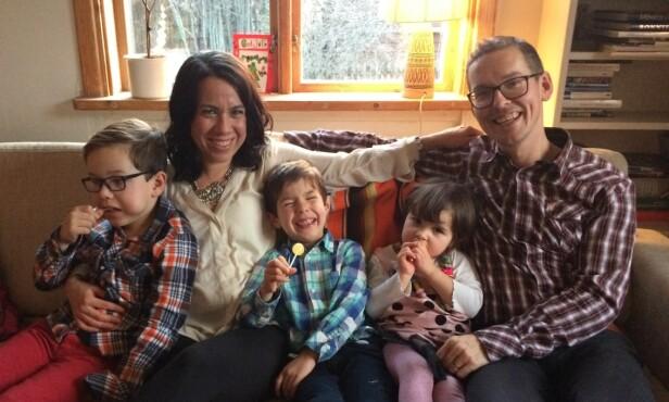 INGEN TIDSKLEMME: Mer tid sammen som en familie er en av de mer åpenbare fordelene med å ikke lengre behøve å jobbe for å tjene penger. Foto: Privat
